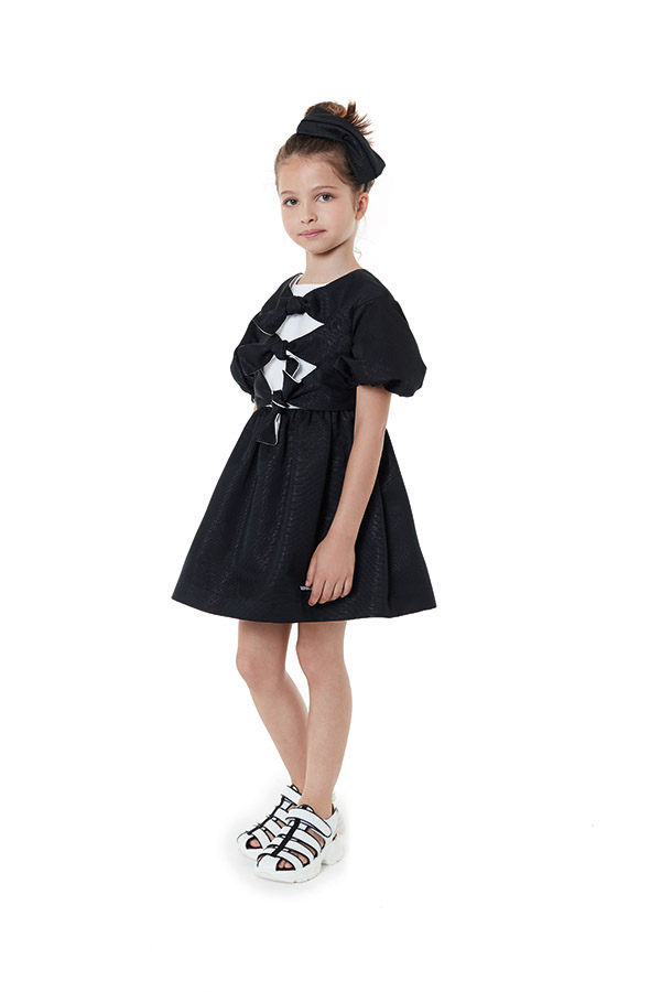 VAFR017 TS0159 BLK - HAIRBAND<br/>  VFAB053 TS0159 BLK - DRESS