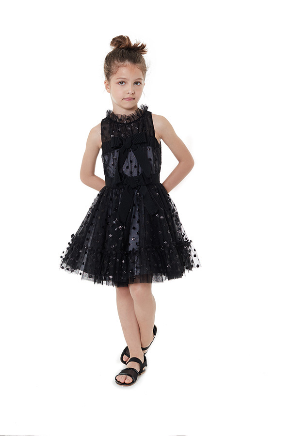 VFAB058 TS0156 BLK - DRESS
